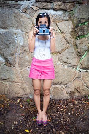 Asian Fashion, Photographer, Polaroid, Kate Greer