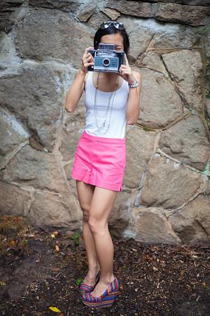 Asian Fashion, Kate Greer, Polaroid, Photographer