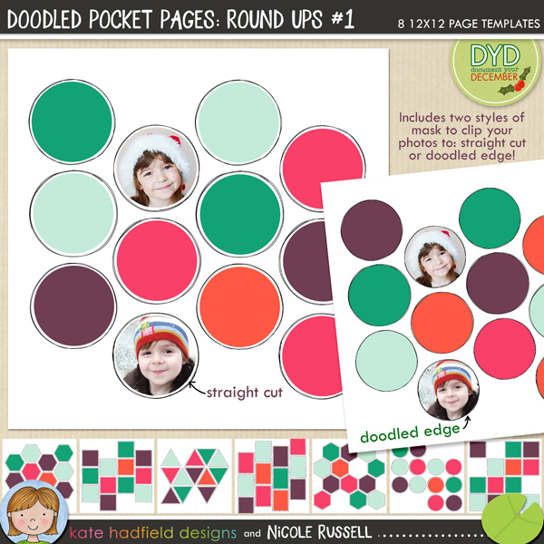 Doodle Pocket Pages: Round Ups #1