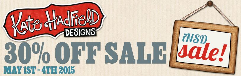 Kate Hadfield Designs NSD sale 2015