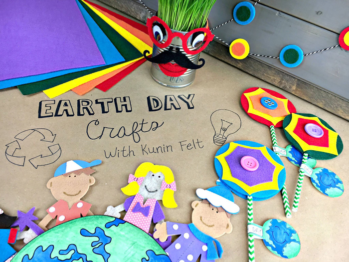 Earth Day Kids Crafts project by Male Kindergarten Teacher | Kate Hadfield Designs