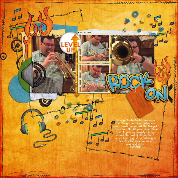 "Kate Hadfield Designs Creative Team inspiration: ""Srsly Stoked"" 