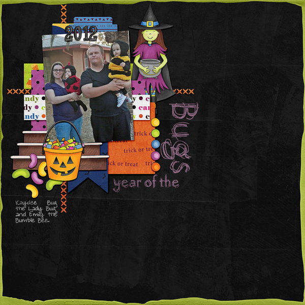 "Kate Hadfield Designs Creative Team inspiration: ""Halloween Favourites"" 