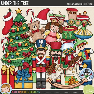 Under the Tree doodles by Kate Hadfield Designs