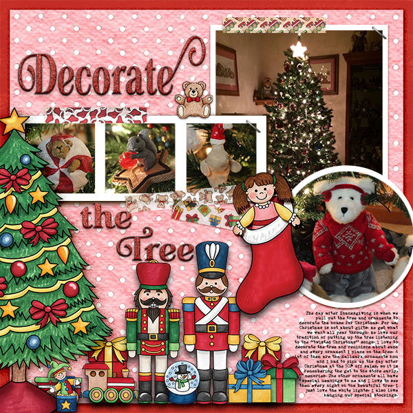"Kate Hadfield Designs Creative Team inspiration: ""Christmas Overlays & Tapes"" 