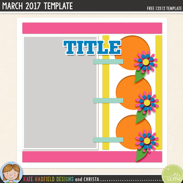 Free digital scrapbooking template / scrapbook sketch from Kate Hadfield Designs! Click to download your template and to see lots of digital scrapbook pages created with this fun template! Download includes PSD, Tiff, png and .page file formats.