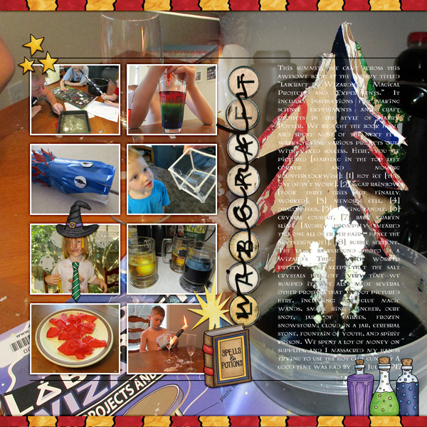 Digital scrapbook layout created with the FREE digital scrapbooking template from Kate Hadfield Designs! Ideas for scrapbook pages, layout by Creative Team member Molly