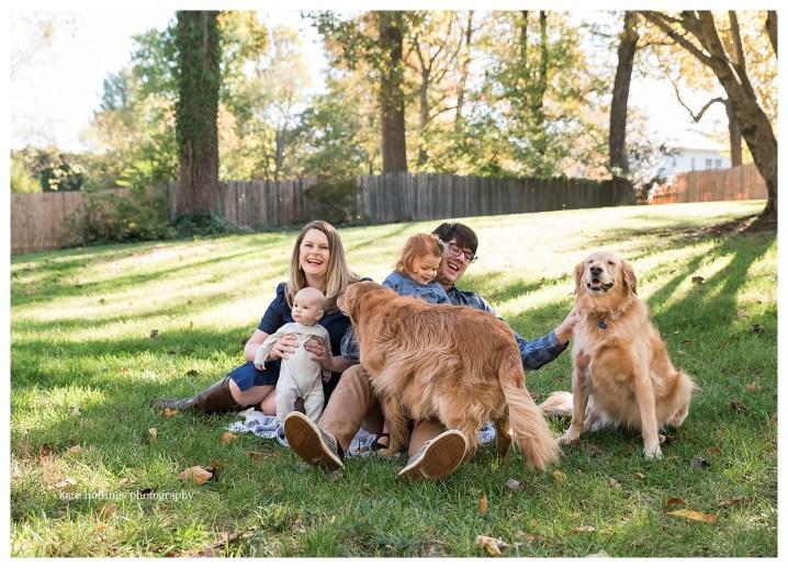 Fur Babies Join Family Photos