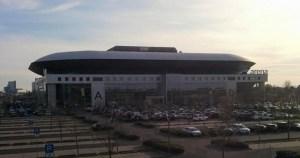 SAP Arena von außen