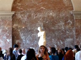 Venus de Milo in the Louvre