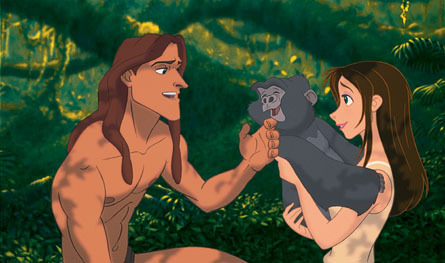 Tarzan 1999 Finding Howl39s Silver Lining in Neverland