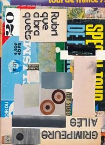 £370, Micosch Holland, Collage, 54x74cm