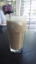 Iced coffee in The Galle Fort Hotel