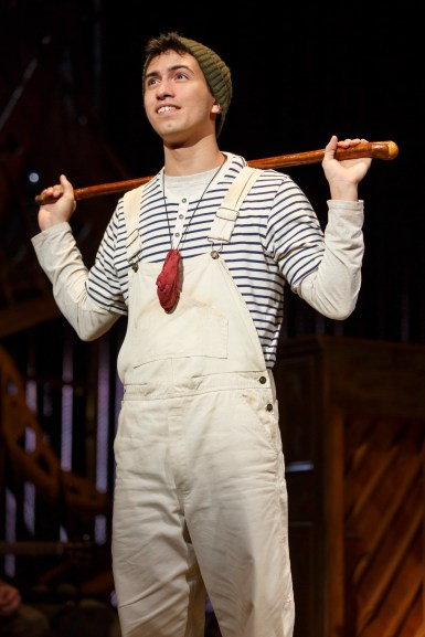 Philippe Arroyo as Jack in 'Into The Woods'