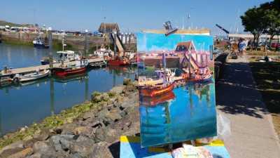 Dublin Plein Air Painting Festival 2018 6