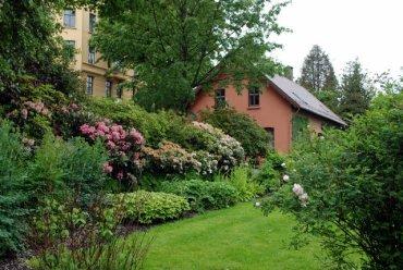 Gardens near the university.