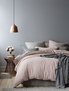 Chambre ambiance scandinave cocooning