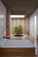 Chambre avec un esprit d'ambiance zen