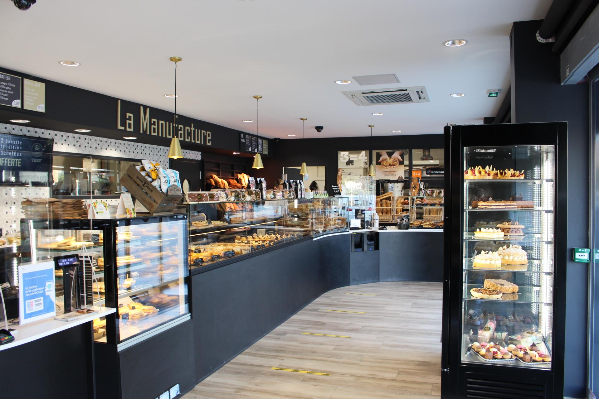 rénovation de la boulangerie La Manufacture