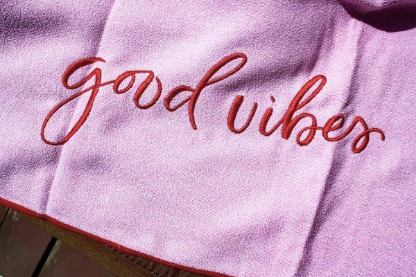 Good Vibes Towel