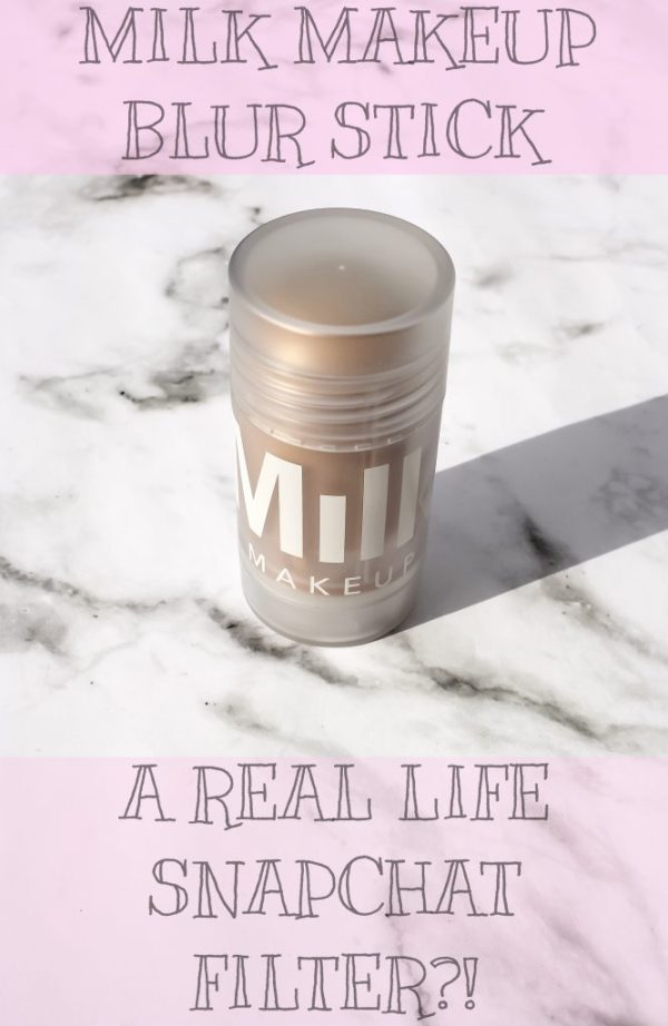 Milk Makeup Blur Stick | A Real Life Snapchat Filter?! | Kate Loves Makeup
