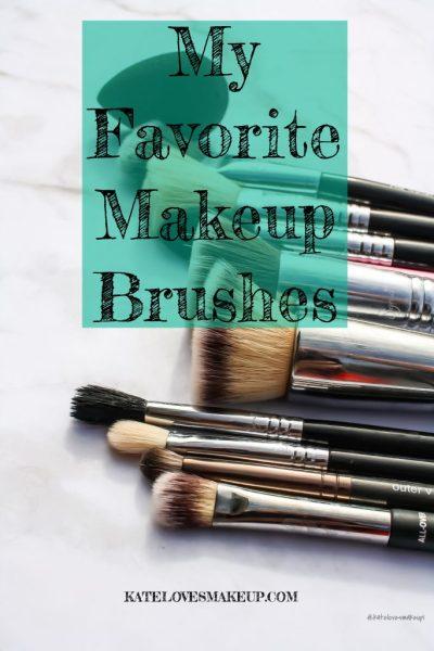 My Favorite Makeup Brushes | Kate Loves Makeup