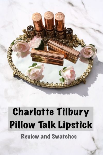 Charlotte Tilbury Pillowtalk Lipstick | Kate Loves Makeup