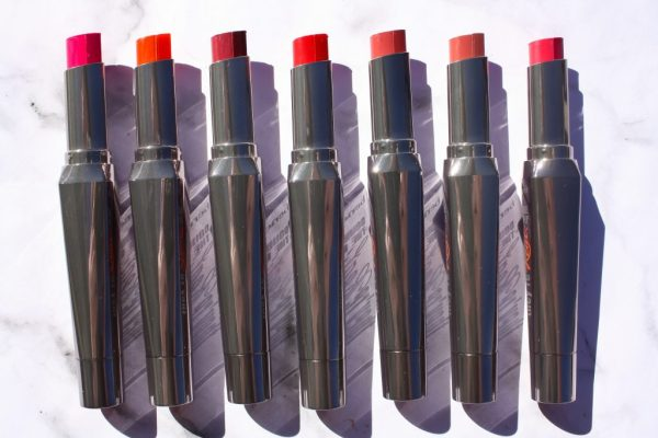 BENEFIT THEY'RE REAL DOUBLE THE LIP LIPSTICK & LINER IN ONE | REVIEW AND SWATCHES | KATE LOVES MAKEUP