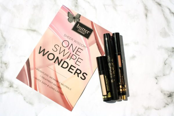BUTTER LONDON SHEER WISDOM REVIEW: LUSH LIP OIL, SERUM SHADOW AND MASCARA | KATE LOVES MAKEUP