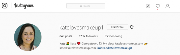 HOW TO ADD MULTIPLE LINKS TO YOUR INSTAGRAM BIO | Kate Loves Makeup