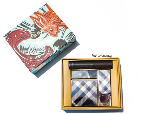 LIMITED EDITION BURBERRY BEAUTY BOX   BURBERRY BEASTS   Kate Loves Makeup