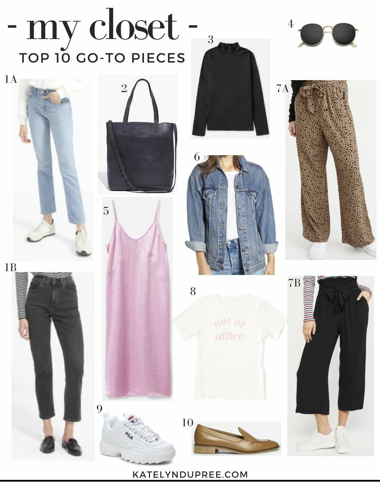 top closet staples