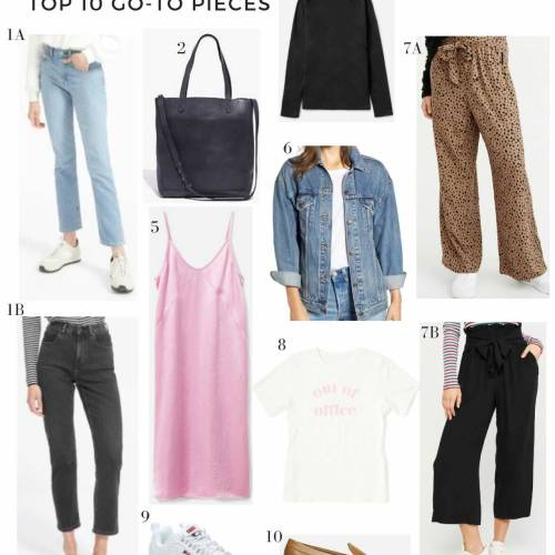 top closet staples
