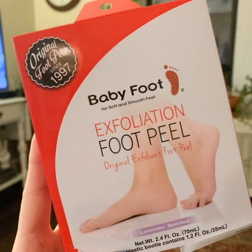 Baby Foot Exfoliation Peel