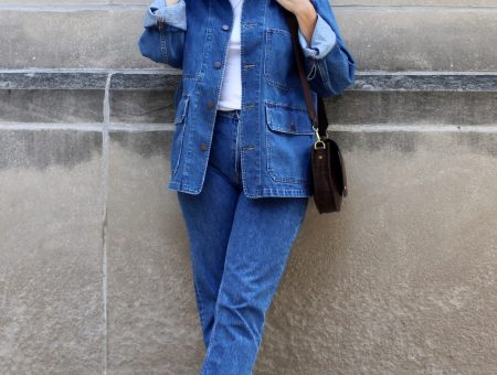 not typical denim jacket