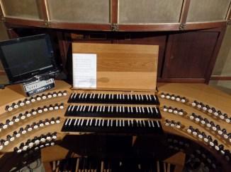 1939/73/93 Klais organ console, Aachen Cathedral