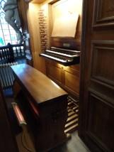 1764 Goynaut/1989 Westenfelder organ, Église Notre-Dame du Sablon, Brussels