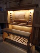 2011 Rudi Jacques organ, Église Notre-Dame du Sablon, Brussels