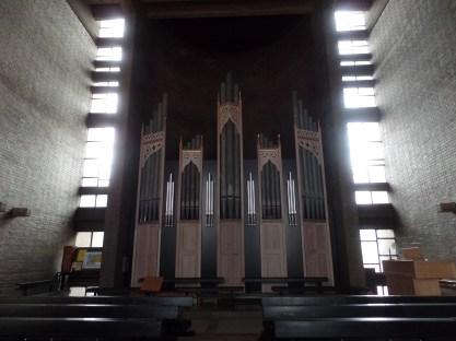 """""""Queen-am-Rhein"""" Binns-Schulte-Orgel, Heilig-Kreuz-Kirche, Bonn-Limperich"""