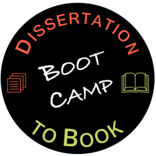 Dissertation to book boot camp logo