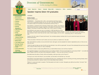 http://www.dioceseofgreensburg.org/accent/Pages/5-23-2013Speakerinspires.aspx