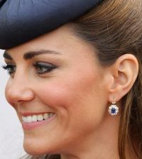 Sapphire and Diamond Earrings | Kate Middleton's Jewelry