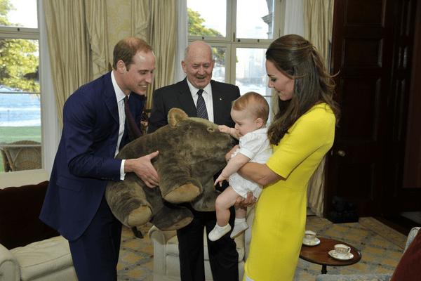 George gets a koala
