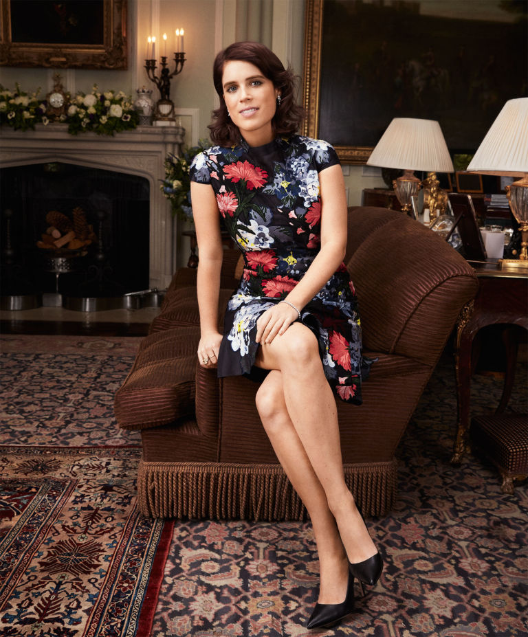 Princess Eugenie Gives Interview To Harpers Bazaar Kate