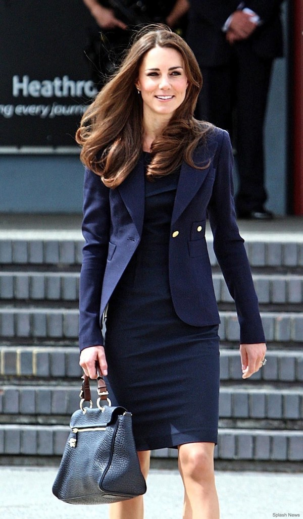 Kate Middleton Owns Two Smythe Duchess Blazers In Green