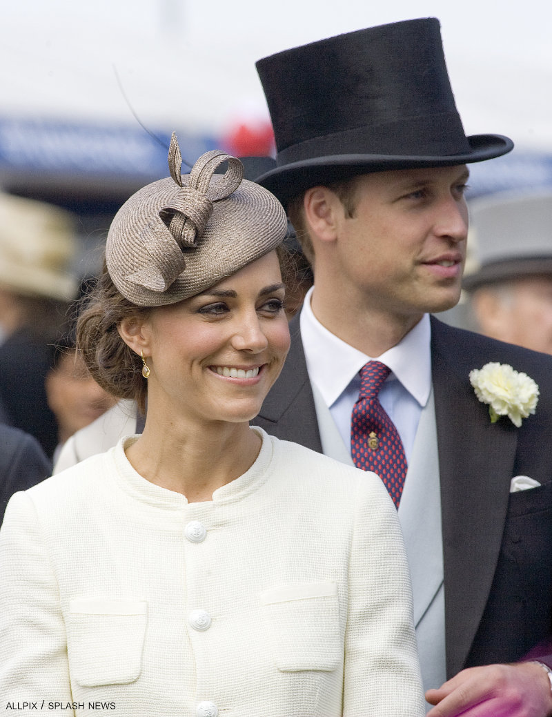 Kate Middleton wearing the Whiteley hat in Cappuccino