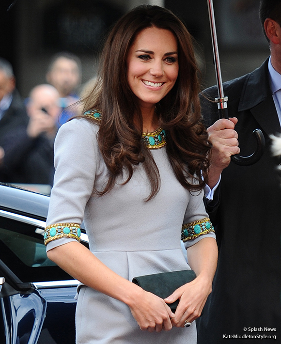 Duchess Kate attends African Cats premiere in aid of Tusk