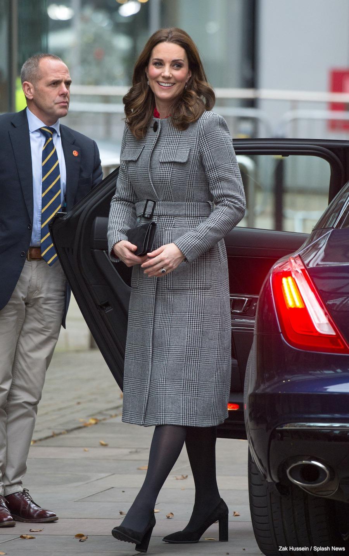 LK Bennett Delli Check Coat  Kate Middleton Style Blog