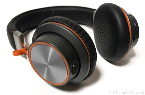 NUBWOの『Bluetoothヘッドホン』を購入レビュー!黒とオレンジでカッコイイ!