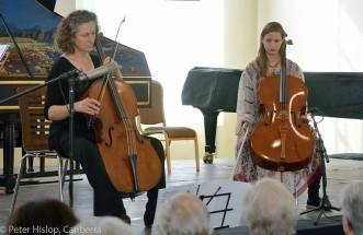 Kate Moore and Rosanne Hunt perform Broken Rosary at The Canberra International Music Festival - May 2015